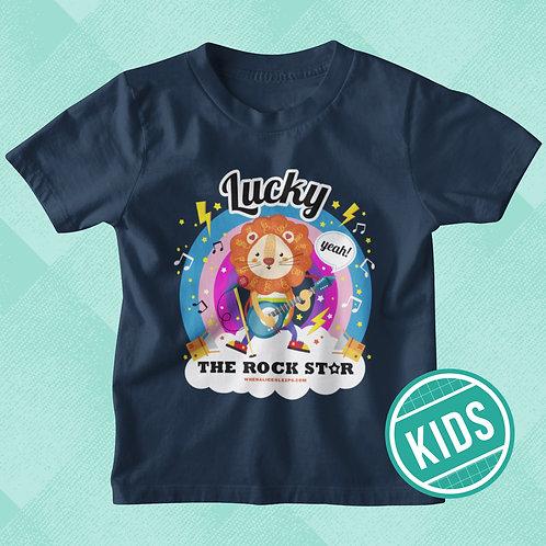 LUCKY the Rock Star Kids T-shirt