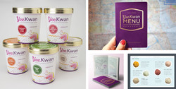 Yee Kwan Ice Cream branding and packaging design