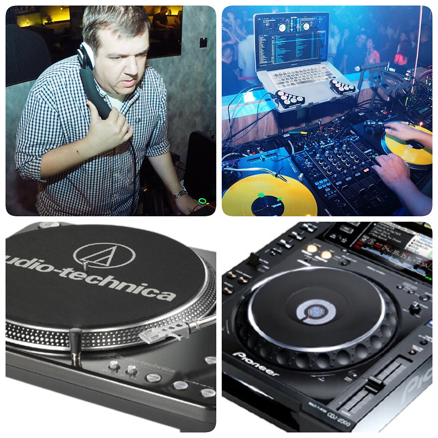 dj headphone, dj behind the deck, turntable, cdj
