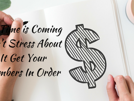 BOOKKEEPING …..DON'T STRESS ABOUT, IT GET YOUR NUMBERS IN ORDER