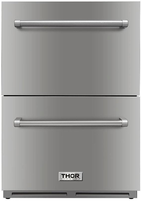 Thor Kitchen 24 in. 5.4 cu. ft. Built-in Indoor/Outdoor Undercounter Double Draw