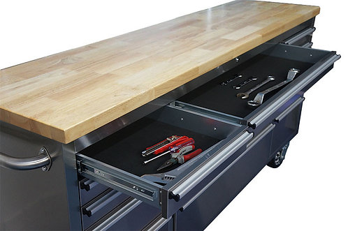 "72"" Thor Tool Chest Storage Cabinet - HTC7215W"