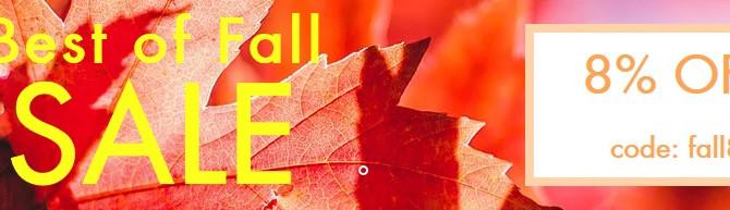 Best of fall SALE 10/20-10/31