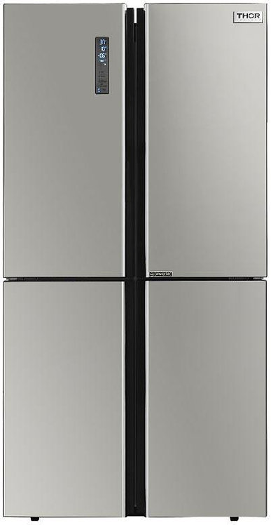 Thor Kitchen 36 in. 22.6 cu. ft French Door Freestanding Frdige in with Ice Make