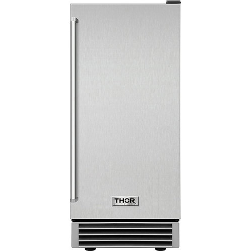 Thor Kitchen : 15 Inch Built-In Ice Maker in Stainless Steel