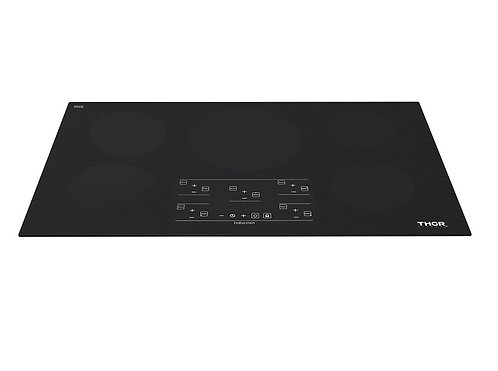 "Thor Kitchen 36"" Induction Cooktop in Black with 4 Elements"