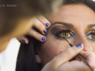 Making of sesión a Yoli con Ainhoa Make Up