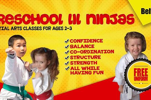 Pre school course 6 weeks
