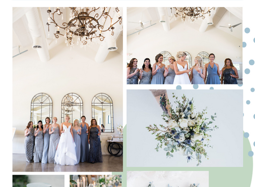 Cool Blue Wedding Inspo
