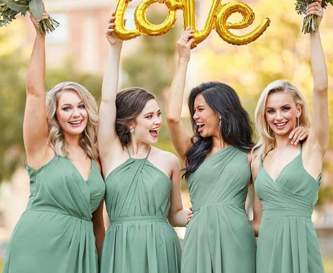 Choosing the Perfect Bridal Party Pallet