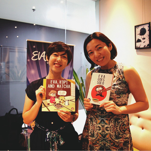 "WASABI Discovery vol.5: EvaComics  ""Life in Japan for Singaporeans"""