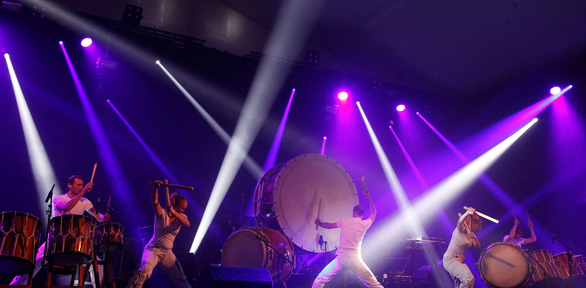 Circle Percussion en Marc van Laere prod