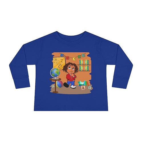 Scrizzie School - Toddler Long Sleeve Tee