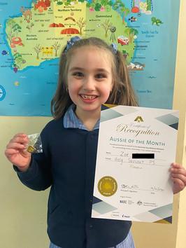 Zoe from Holy Savior Primary School