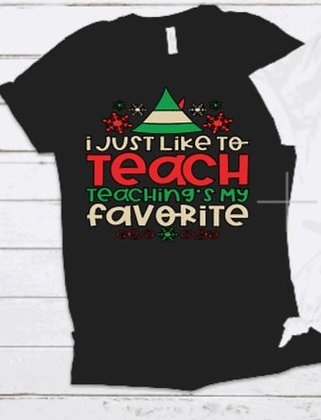 (Black) I Just Like To Teach