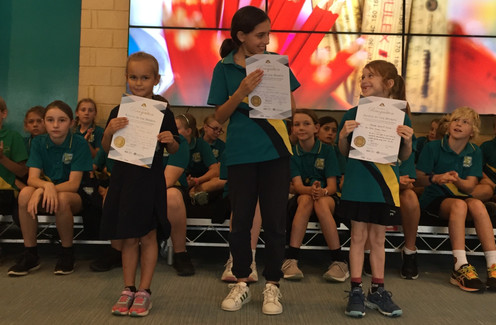 Two Rocks PS - March recipients