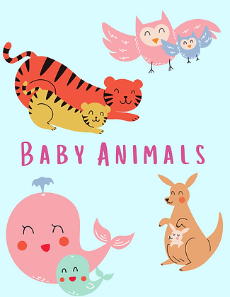 January Lesson Plan: Baby Animals