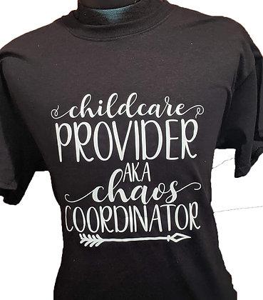 Black Shirt Chaos Coordinator