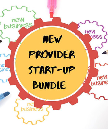 New Provider Start Up Packet