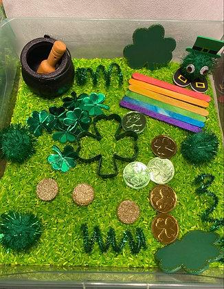 St. Patrick's Sensory Bin