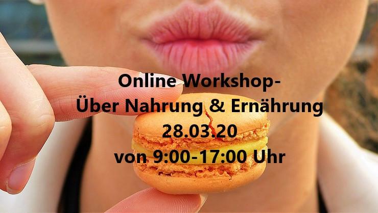 Workshop: Nahrung & Ernährung mit Larissa Behr in Frankenthal