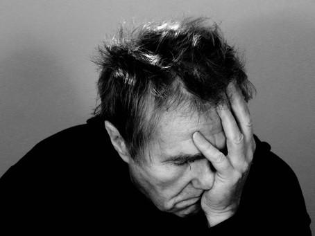 Burnout, ausgebrannt, erschöpft