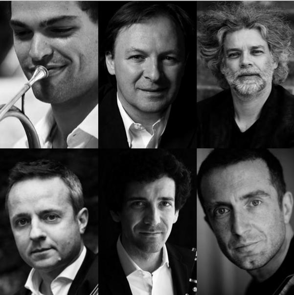 David Guerrier Jean-Louis Capezzali François-Frédéric Guy Marc Coppey Nicolas Baldeyrou Tedi Papavrami