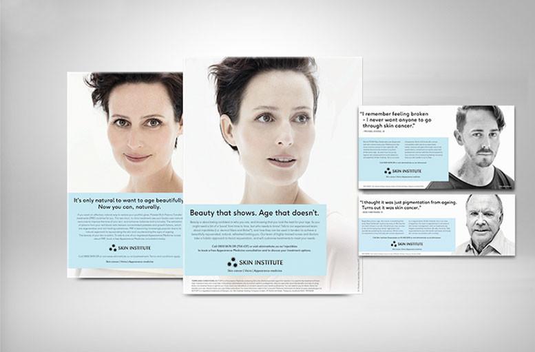 Skin Institute: ad campaign