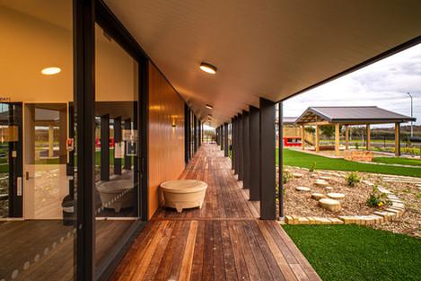 Covered walkway