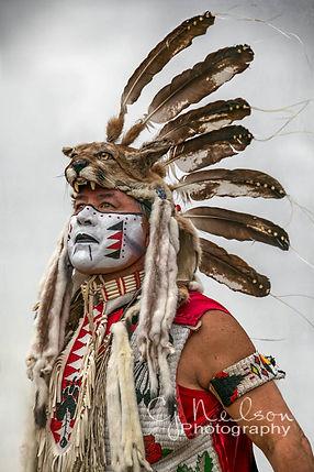 PowWow, Warcloud, Native American, Mt. Lion, Percy Edwards dances