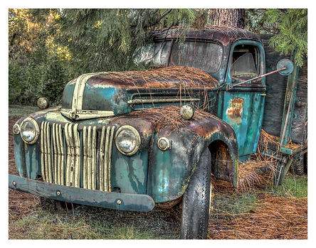 1946 Ford, old pickup truck, rusted truck.  antique truck.