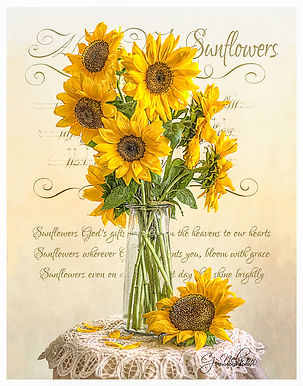 Sunflowers, Sunflowers in vase, yellow, springtime, sunflower seeds