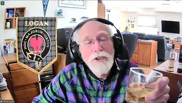 James C.Logan president of the Clan Logan Society International