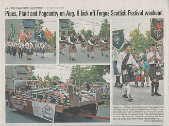 Clan Logan Fergus Parade