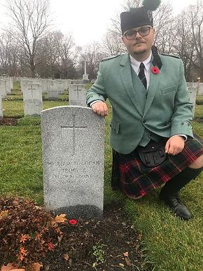 Clan Logan remebrance day Ottawa 2020