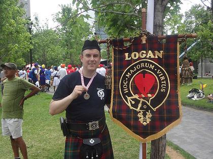 steven Logan Clan Logan medal