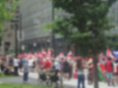 Montreal Canada day parae 2018