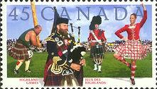 canada stamps scottish
