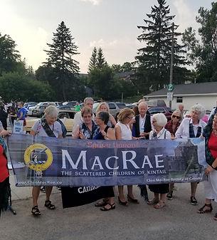 Clan MacRae Fergus parade