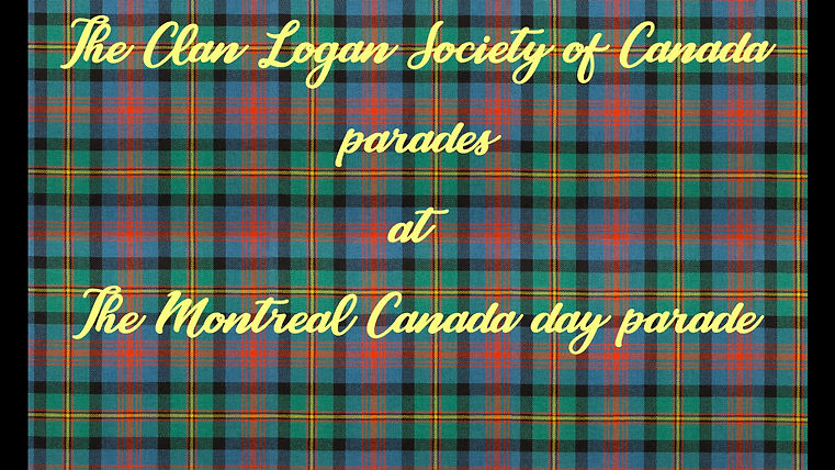 Clan Logan Montreal Canada day parade