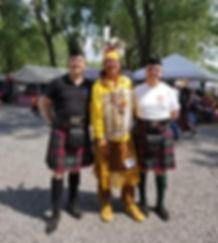 pow wow Clan Logan
