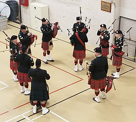 Black Watch pipers