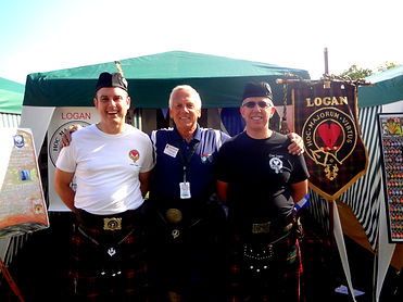 Clan Logan Dave Radley Fergus Scotish Festivl Highland Games