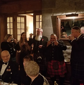 Sterling Downey, City Councillor Montreal Burns night 2020