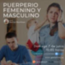 Puerperio femenino y masculino melina ju
