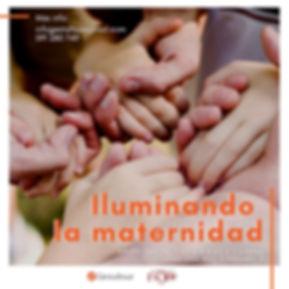 afiche iluminando la maternidad marzo 20