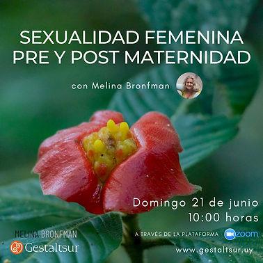 sexualidad femenina - melina junio 2020.