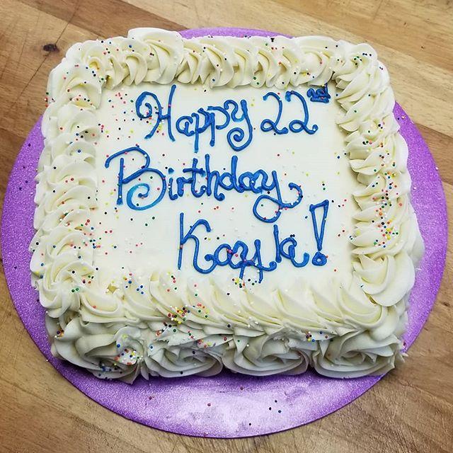 DF Vanilla Cake with Vanilla Frosting