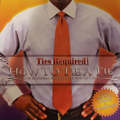 Ties Required Plus : How to tie a tie - DVD