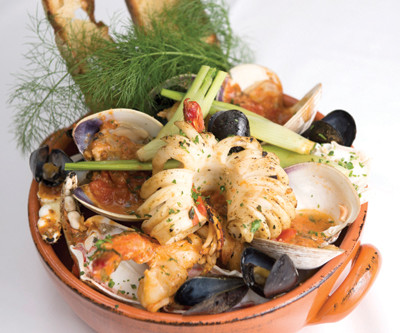 Caciucco ricetta: Italian fish stew